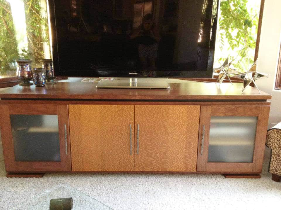 wide-custom-entertainment-center-frosted-glass